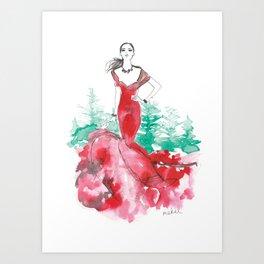 Christmas 2018 Art Print