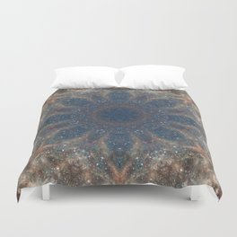 Space Mandala no22 Duvet Cover