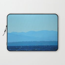Blue on blue Laptop Sleeve