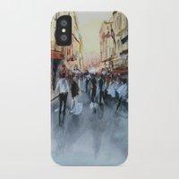 paris iPhone & iPod Cases featuring PARIS by Nicolas Jolly