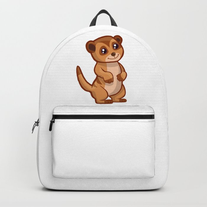 Cute Baby Meerkat Backpack