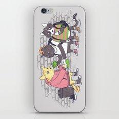 Meowy Wowy iPhone & iPod Skin