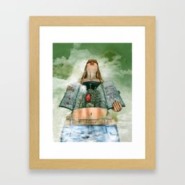 Overheated Framed Art Print