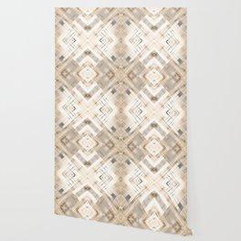 Beige abstract pattern . Wallpaper