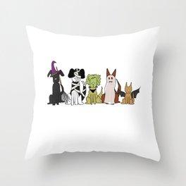 Bark-or-Treat Throw Pillow