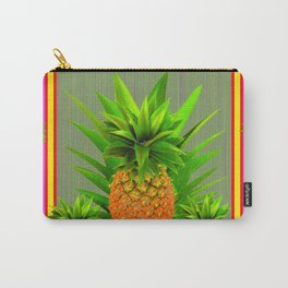 PINK HAWAIIAN PUNCH COLOR PINEAPPLE ART Carry-All Pouch