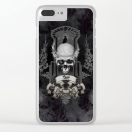 Amazing skull Clear iPhone Case
