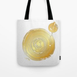 Vinyl Rings Tote Bag