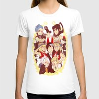 soul eater T-shirts featuring Soul Eater Meisters and Weapons by renaevsart