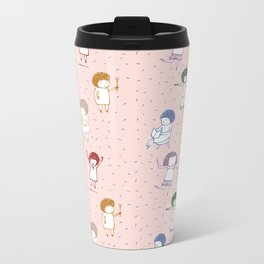 some girls Metal Travel Mug