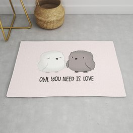 Owl You Need is LOVE Rug
