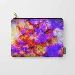 Purple Tie Die Carry-All Pouch