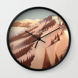 hight lands Wall Clock