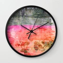 Bird Life Wall Clock