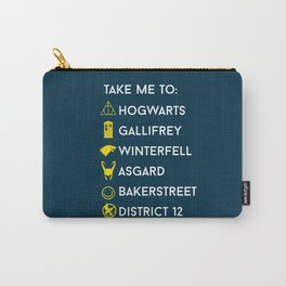 Take me to:  Carry-All Pouch