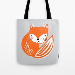 Fox Print by Tasha Johnson Tote Bag