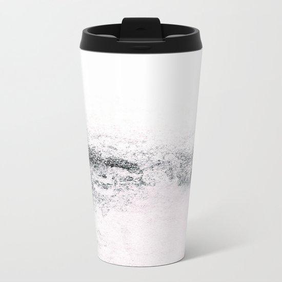 SNOWDREAMER WHITE Metal Travel Mug