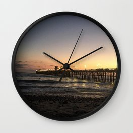 Pier View Drive Wall Clock