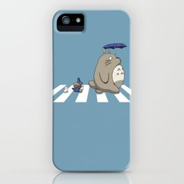 Ghibli Road [Colored] iPhone Case