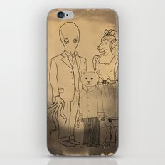 Family Portrait iPhone & iPod Skin