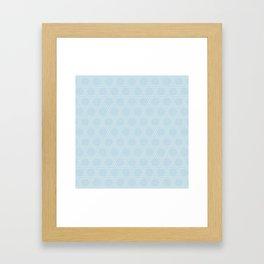 JAPANESE PAT. KAGOME Framed Art Print