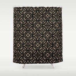Dark Corner Shower Curtain