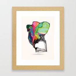 Winged Rainbow Framed Art Print