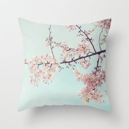 Spring happiness Throw Pillow
