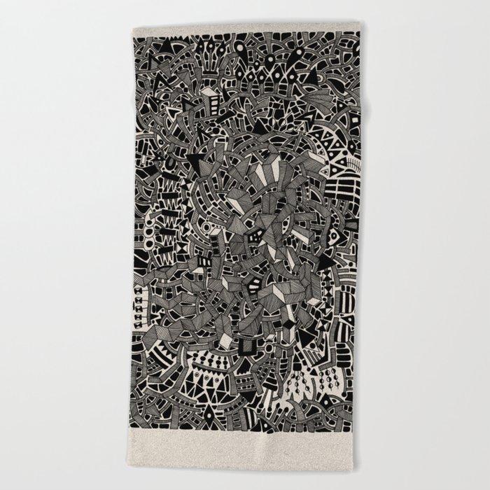 - blackout - Beach Towel