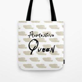 Progressive Queen Digital Design-Oatmeal Tote Bag