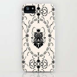 Seamless wallpaper background floral vintage iPhone Case