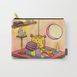 Cat's Cuddly Cube Room Carry-All Pouch