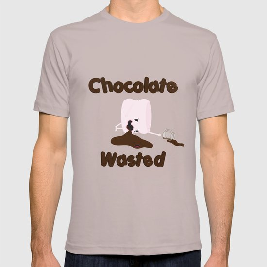 Chocolate Wasted (blue) T-shirt