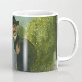 "Henri Rousseau ""Stroller and Child"" Coffee Mug"