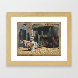Death of the Innocent, Khost, Afghanistan Framed Art Print