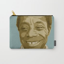 James Baldwin Carry-All Pouch