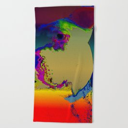 PITTY PAT Beach Towel