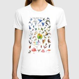 Rainbow Birds T-shirt