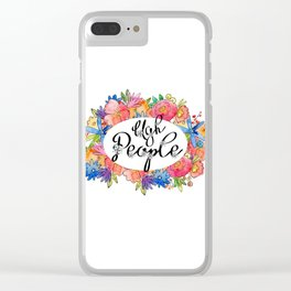 Ugh People Clear iPhone Case