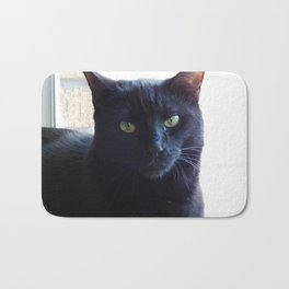 Cranky cat Bath Mat