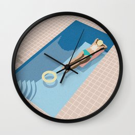 2 COOL 4 POOL Wall Clock