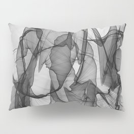 abstract black white background Pillow Sham