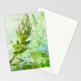 growing lupine Stationery Cards