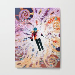 Powder Princess Metal Print