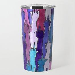 angry bisexual Travel Mug
