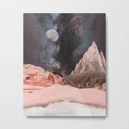 Morning moon  Metal Print