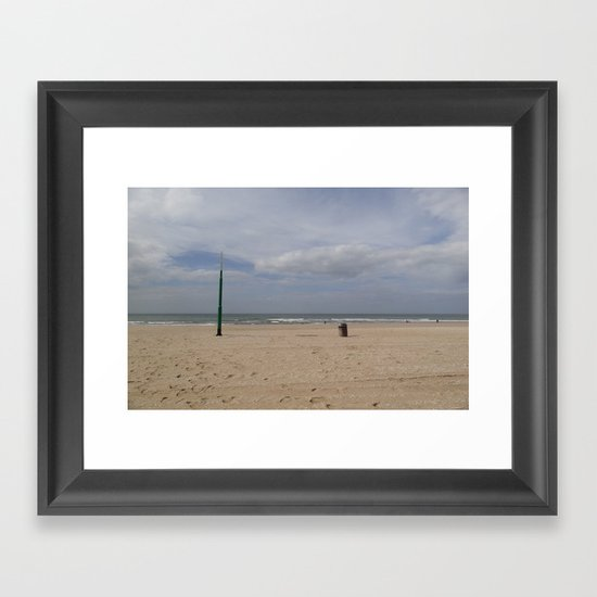 The Bin and the Latern Framed Art Print