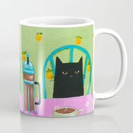 French Press Coffee Cats Coffee Mug