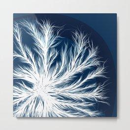 Mycelium in a petri dish Metal Print