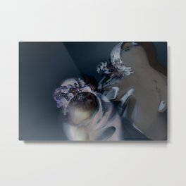 The Last Embrace : A Cold Goodbye Metal Print